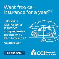 CCI Win your car premium back - 151017