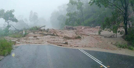 Flooding has cut off roads in Townsville (The Catholic Leader)