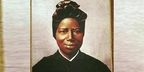 St Josephine Bakhita is patron saint of victims of slavery and Sudan (Supplied)