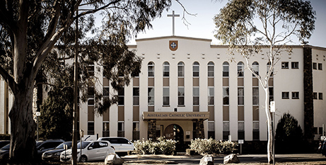 The Blackfriars building at ACU Canberra (ACT Government)