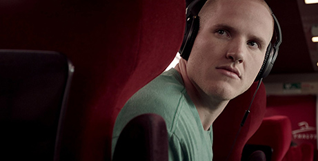 Spencer Stone in The 15:17 to Paris (IMDB/Warner Bros Pictures)