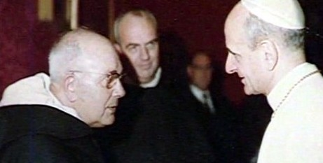 Pope Paul VI with Fr Lebret op
