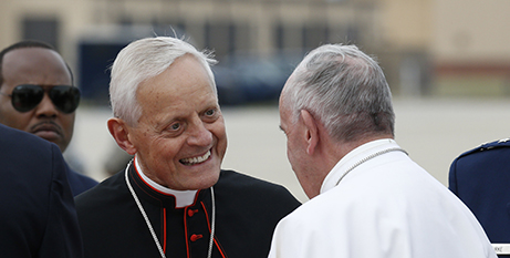 Cardinal Wuerl and Pope Francis