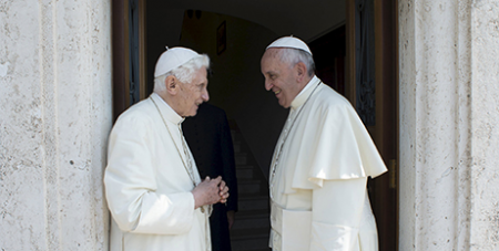 Benedict and Francis