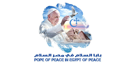 Papal trip to Egypt logo (Holy See Press Office)