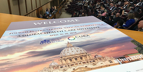 Francis recommended prevention as the first step in health care (Vatican News)