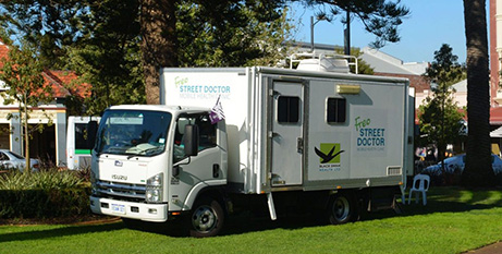 Demand for the mobile health service has rocketed (Black Swan Health)