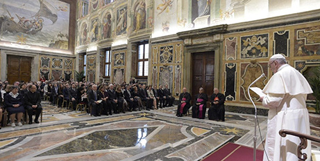 Pope Francis addresses Avvenire staff and their families (Vatican News)