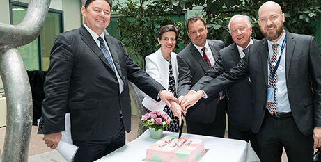 Marking the opening of the centre (The Catholic Leader)