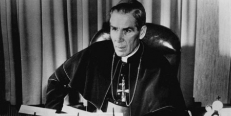 The late Archbishop Fulton Sheen (NCR/public domain/Wikipedia)