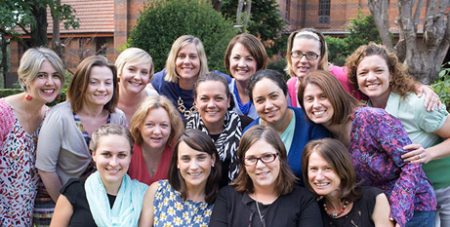 Members of the 2017 Young Catholic Womens Fellowship (ACBC/OPW)