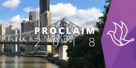 PROCLAIM will be held in Brisbane for the first time (proclaimconference.com.au)
