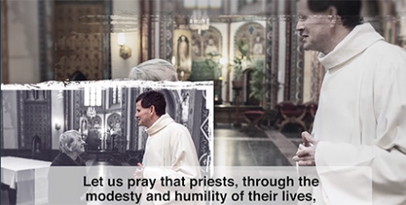 A screenshot from The Pope Video for June (Vatican Media)