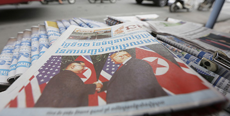 Dictators seek to destroy the free press (CNS/Kith Serey, EPA)
