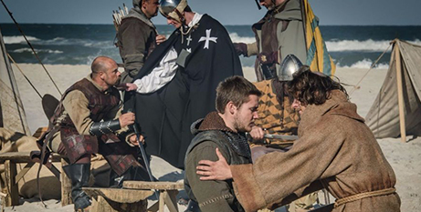 A still from The Sultan and The Saint (Catholic Outlook)