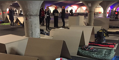 The Melbourne CEO Sleepout (Twitter/Dayle Stevens)