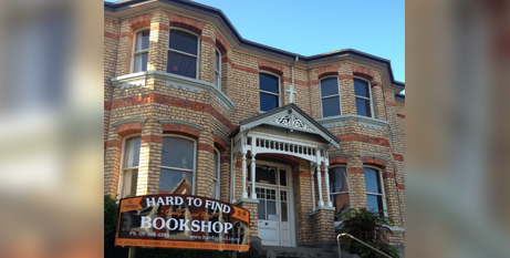 The new home of Hard to Find Books, Auckland (Facebook)