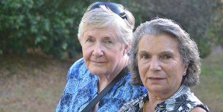 Bernadette McKay (left) and Rose Bililis (Catholic Outlook/CatholicCare)