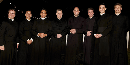 The Brisbane Oratory community now stands at eight members (The Catholic Leader/Maria Rose Anna Photography)