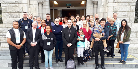 The Australian delegation at the World Meeting of Families in Dublin (ACBC)