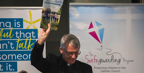 Archbishop Timothy Costelloe at the resource launch (The eRecord/Josh Low)