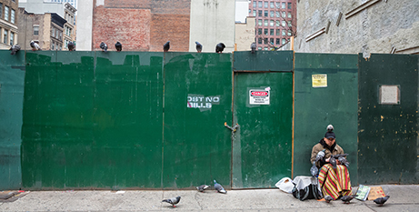 The project will help people living in poverty, especially the homeless and disabled (Bigstock)