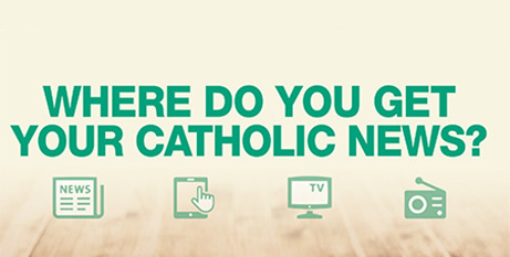 Parish newsletters and websites topped the list of where Australian Catholics get their news (Supplied)