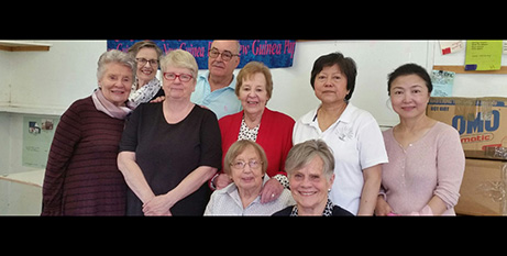 Members of the St Paul's Overseas Aid group (Melbourne Catholic)