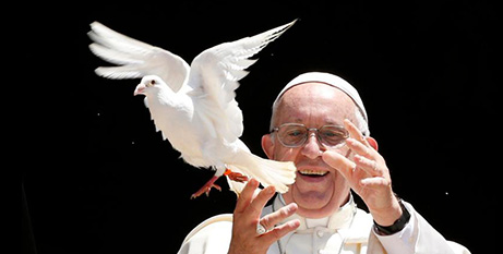 The Pope's messages for World Day of Peace have often offered bold advice at both a political and pastoral level (CNS/Paul Haring)