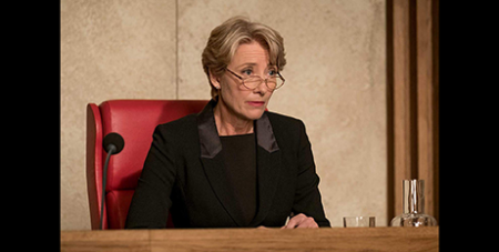 Emma Thompson in The Children Act (IMDB)