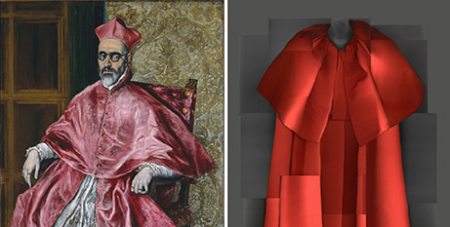 The show will include more than 50 garments from the Vatican (Met/Katerina Jebb)