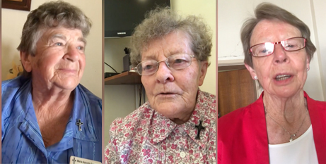 Sr Maria Assunta, Sr Marie Jean Butler and Sr Caroline Nolan each spent time at the convent (Catholic Voice)