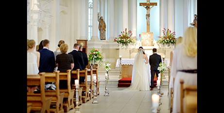 Catholic couples need to give a minimum of 12 months' notice to be married in a Singapore church (Bigstock)-Bigstock