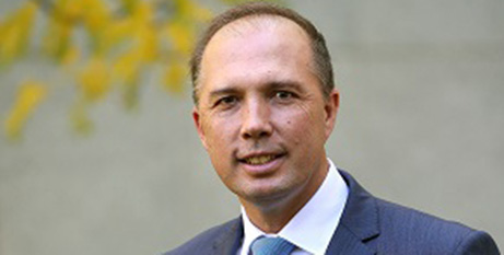 Home Affairs Minister Peter Dutton (Wikimedia)