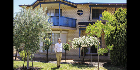Dr David Treanor at the L'Arche Welcome House in Perth (Supplied)