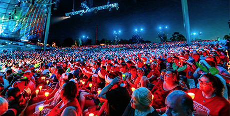 The 2016 Carols by Candlelight, Melbourne (Instagram/Vision Australia)