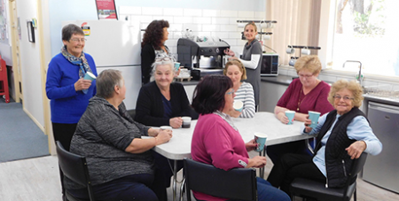 The Coffee Hub at Tatura Community Centre in Victoria (Highways and Byways)
