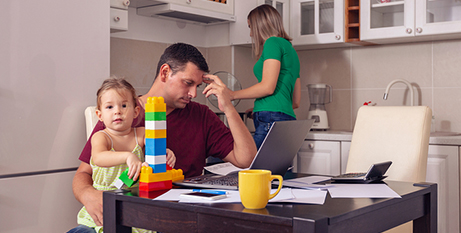 The analysis predicts a 24 per cent increase in the number of families facing housing stress in 2021 (Bigstock)