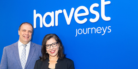 Philip Ryall and Selina Hashem (Harvest Journeys)