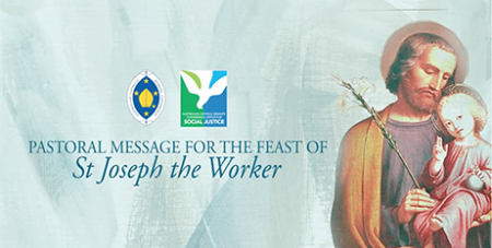 The Feast of St Joseph the Worker is celebrated on May 1 (ACBC)