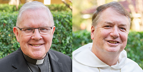 Archbishops Mark Coleridge and Anthony Fisher OP (ACBC)