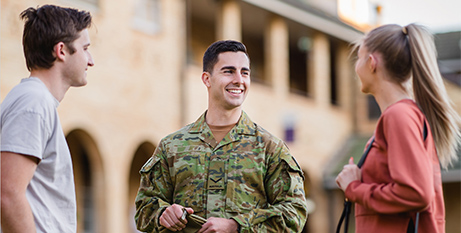 The Veteran's Entry Program was launched by ACU last year (ACU)