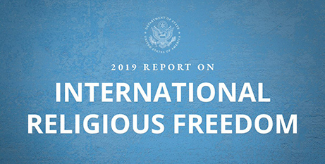 The United States Government released its annual report on international religious freedom last week (USCIRF)