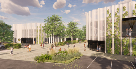 Artist's impression of the new campus  (Supplied)