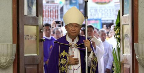 Bishop Broderick Pabillo (CNS/Romeo Ranoco, Reuters)