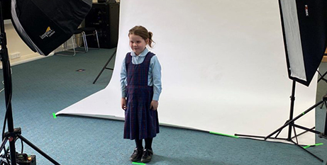 Students participated in a photo shoot for the campaign earlier this year (The Southern Cross)