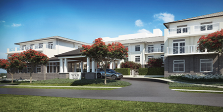 This aged care home in Corinda is one of three in Queensland acquired by St Vincent's Care Services (Supplied)