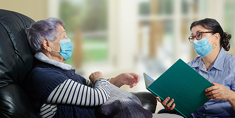 The aged care royal commission recommended aged care centres have trained infection control officers as a condition of accreditation (Bigstock)
