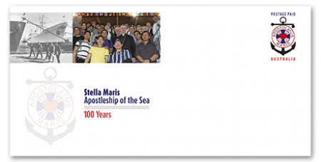 The Apostleship of the Sea pre-paid envelope (Supplied)