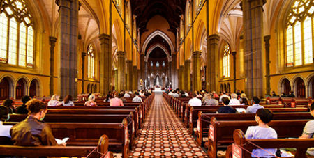 St Patrick's Cathedral in Melbourne (Melbourne Catholic)